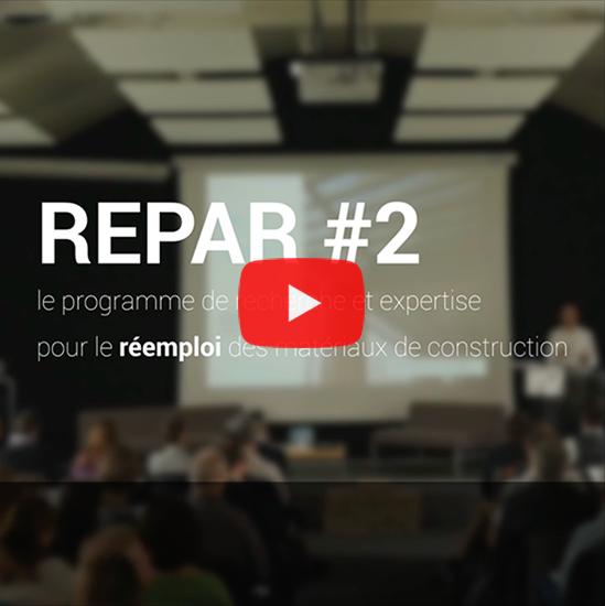 La restitution de REPAR #2 en vidéo !